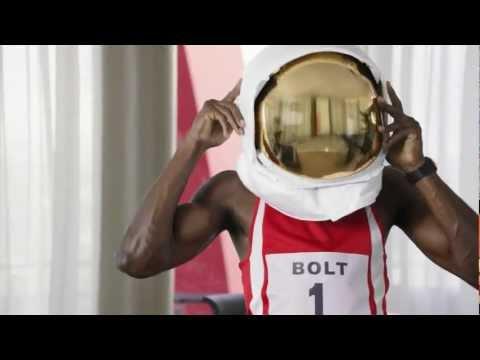 "Usain Bolt Commercial ""I am Richard Branson"""