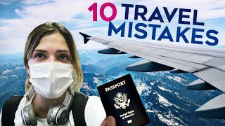 Video The 10 BIGGEST Travel Mistakes TO NOT MAKE MP3, 3GP, MP4, WEBM, AVI, FLV Oktober 2018