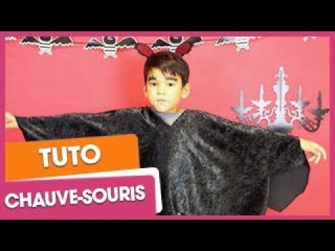 Halloween : déguisement de chauve-souris | CitizenKid.com