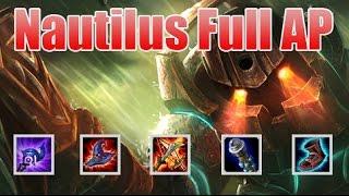 Hướng dẫn chơi Nautilus đi MID lên full AP cực bá đạo