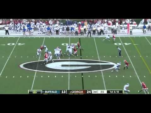 Branden Oliver vs Georgia 2012 video.