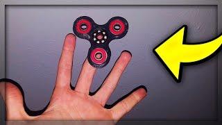 FIDGET SPINNER Vs. TRICKS?!?! - FINGER SPINNER Experiment - *PART