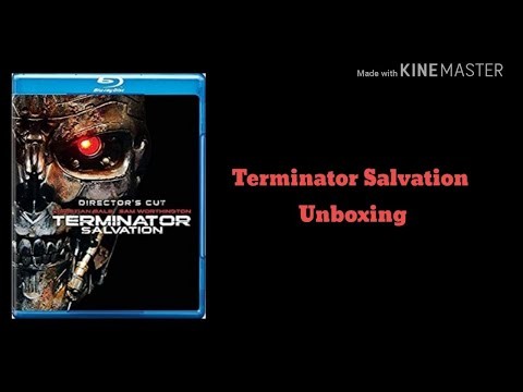 Terminator Salvation (2009) Blur-ray and DVD unboxing
