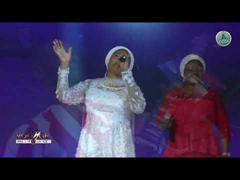 Tope Alabi Worship Section @Coza
