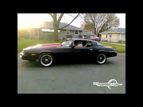 myPowerBlock: Black Camaro Burnout