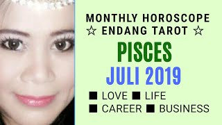 Video ZODIAC PISCES  | JULI 2019 | YOUR MONTHLY HOROSCOPE | Endang Tarot-FortuneTeller (Indonesia) MP3, 3GP, MP4, WEBM, AVI, FLV Juni 2019