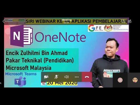 Webinar Zulhilmi OneNote