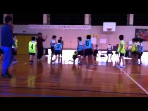 大里南vs大里柳バスケット対決