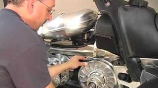 9. Replacing Belt - 2010 Arctic Cat Crossfire 600 Snowmobile