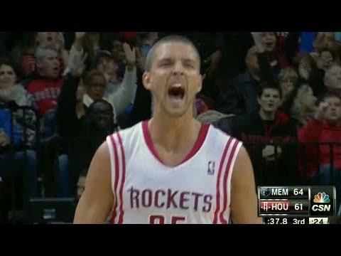 Chandler Parsons hits 10 straight three-pointers in ONE HALF!