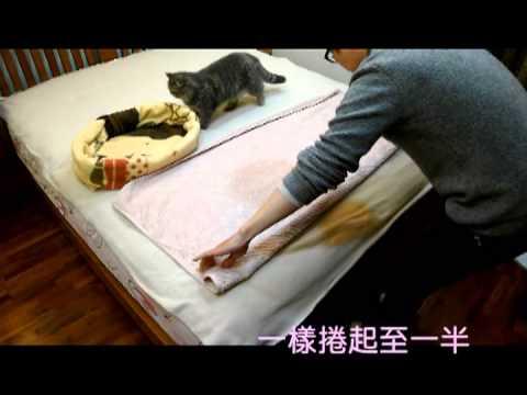 DIY貓咪睡墊