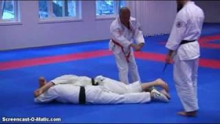 soke yamaue  qi energy vs 3 opponents