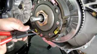 10. My Road 700 Kymco with Dr.Pulley HiT302001 all pillow springs are changed.MPG