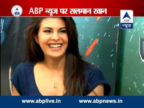 SALMAN - Salman Khan and Jacqueline spoke to ABP News about their upcoming movie Kick. For latest breaking news, other top stories log on to: http://www.abplive.in & http://www.youtube.com/abpnewsTV.