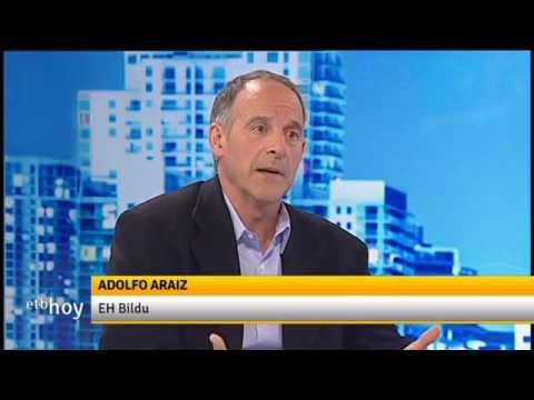 Entrevista en ETB Hoy a Adolfo Araiz, candidato a la presidencia de Nafarroa