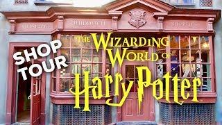 HARRY POTTER SHOP TOUR: Quality Quidditch Supplies | WIZARDING WORLD UNIVERSAL ORLANDO