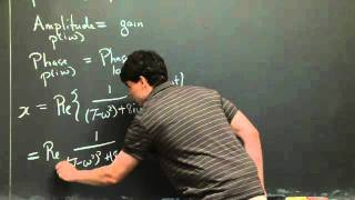 Gain And Phase Lag | MIT 18.03SC Differential Equations, Fall 2011