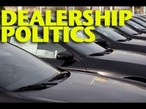 Dealership - Visit me at: http://www.ericthecarguy.com The other day I was asked about doing a show on Dealership Politics, this is the result of that request. I don't wa...