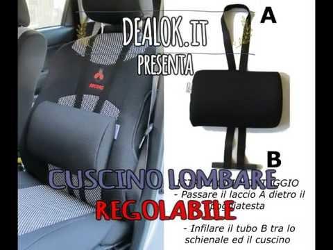 Cuscino Lombare Regolabile per auto