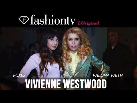 Vivienne Westwood Red Label Fall/Winter 2014-15 Front Row | London Fashion Week LFW | FashionTV