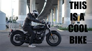 8. The New Triumph Bobber Black is bloody cool