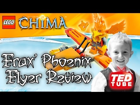 LEGO Chima Frax' Phoenix Flyer (30264) - Reviewed By TedTube