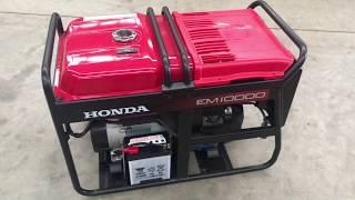 6. 2 WIRE AUTOMATIC START HONDA EM10000 PETROL GENERATOR