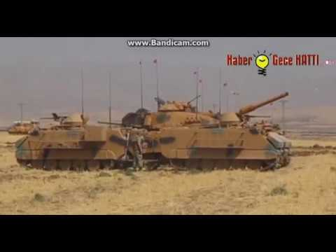 Türkiye Irak Sınırı Askeri Tatbikat