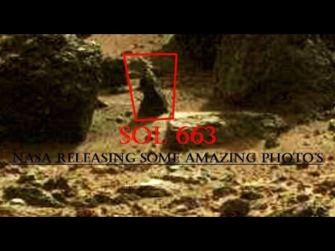 NASA RELEASING SOME AMAZING PHOTO'S – SOL 663 TruthSeeker's Mars Anomaly Research