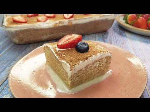 Torta de tres leches • Postres peruanos    BUENAZO! видео