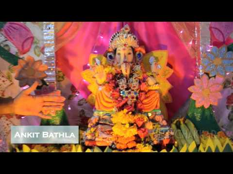 Ganpati Bappa Morya with Ankit Bathla and Nikkhil