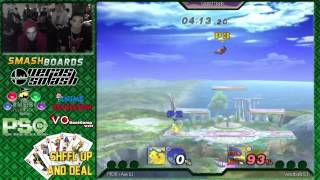 SHFFL (GF) – Axe (Pikachu) Vs Westballz (Falco, Fox)