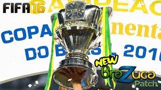 Brazuca Patch fifa 16 final da copa do brasil ida e volta melhores momentos link blog BRAZUCA PATCH...