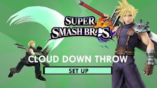 Cloud Down Throw Set Up!