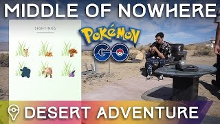 POKÉMON GO IN THE MIDDLE OF NOWHERE | Trainer Tips by Trainer Tips