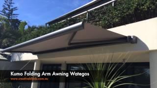 Kumo Folding Arm Awning Wategos