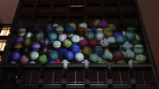 早稲田祭2017プロジェクションマッピング-OP映像