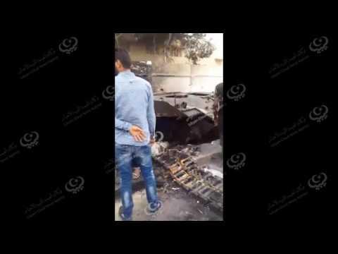 مخلفات حرب الشوارع في ابوسليم
