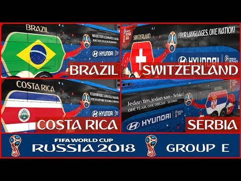 FIFA WORLD CUP 2018 RUSSIA Group E Official Buses Volvo 9800 v1.0