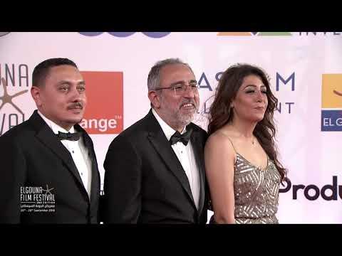 """ريهام عبد الغفور في افتتاح """"الجونة السينمائي"""": لن نقبل بأقل من هذا المستوى"""