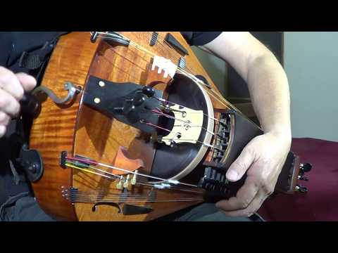 The Hurdy Gurdy is argueably one of the most beautiful instruments, both looks and sound.
