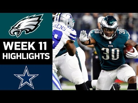 Video: Eagles vs. Cowboys | NFL Week 11 Game Highlights