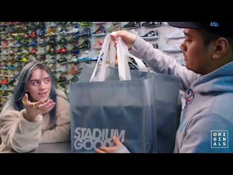 Billie Eilish vai as compras - Complex - legendado