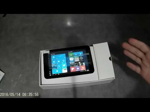 iRULU 7 Inch Windows 10 Tablet Unboxing and First Look