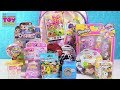 Shopkins Surprise Backpack Disney Tsum Tsum Num Noms Toy Review | PSToyReviews