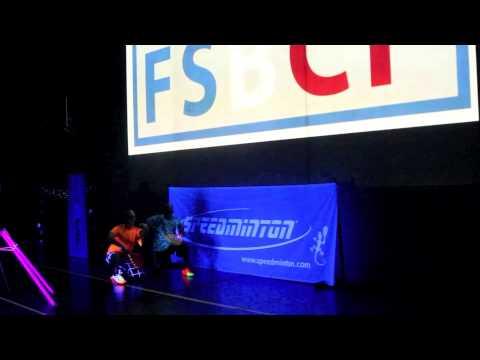 Speed badminton - Le Blackminton® débarque à l'EDHEC