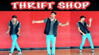 THRIFT SHOP - Macklemore Beginner Dance Tutorial   @MattSteffanina Choroegraphy (@DanceVIDSlive) - YouTube