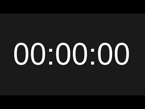 2 hour stopwatch digital workout clock
