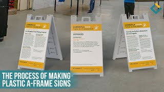 The Making Process of Promotional Sandwich Boards