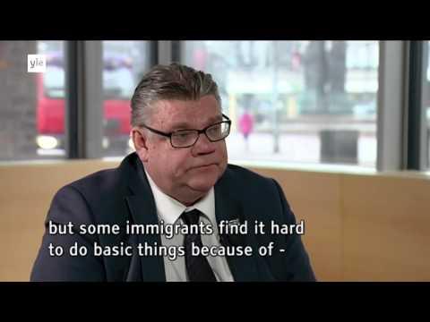 Timo Soini on immigration tekijä: Yle Areena